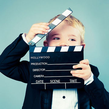 child playing director
