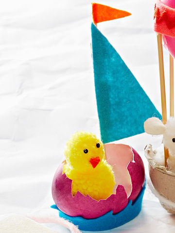 Egg Sailboat