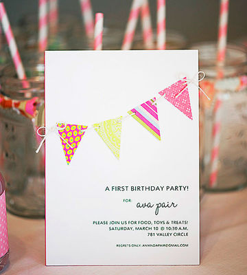 Pretty in Pink invite
