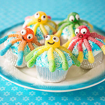 Under-the-Sea Cupcakes