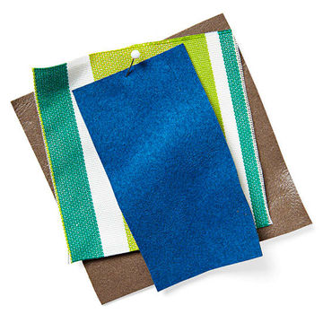 Outdoor fabric swatches