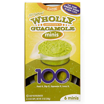 Wholly Guacamole Snack Packs