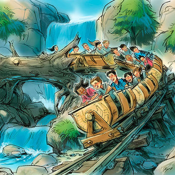 Seven Dwarfs Mine Train in Fantasyland