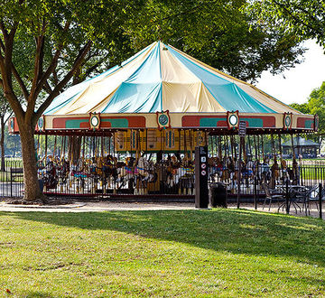 carousel on the mall