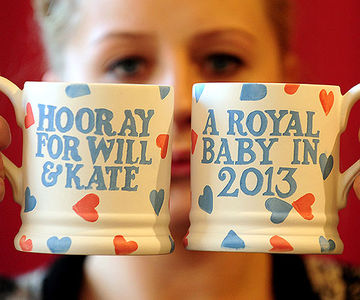 Commemorative Mugs for the Royal Baby