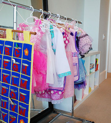 Dress Up Clothes Rack
