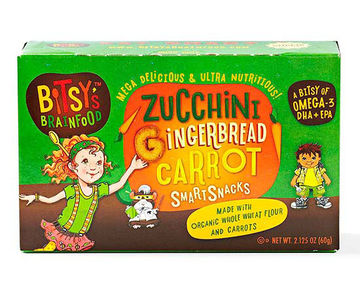 Bitsy's Brainfood Zucchini Gingerbread Carrot