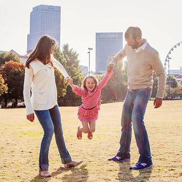 Family at Centennial Olympic Park
