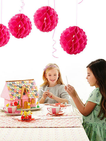 Doll birthday party