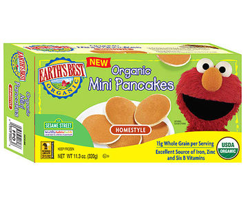 Earth's Best Organic Mini Pancakes Homestyle flavor