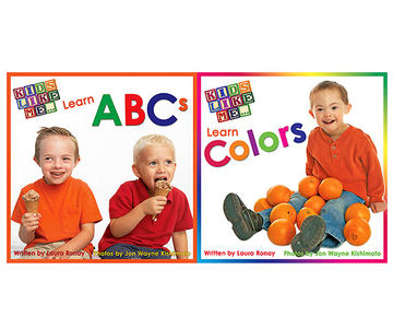 Kids Like Me...Learn ABCs & Learn Colors