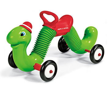 Radio Flyer Inchworm Rider