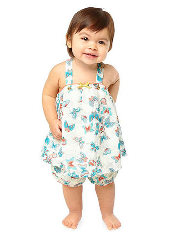 Baby in dress