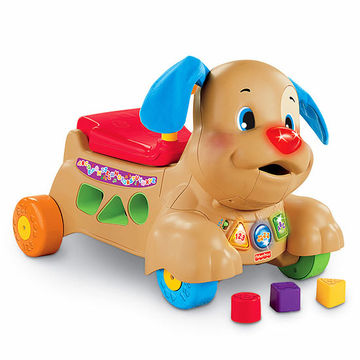 Laugh & Learn Stride-to-Ride Puppy by Fisher-Price