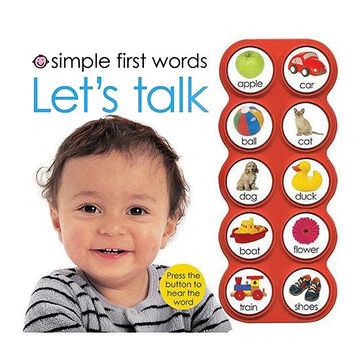 Simple First Words, Let's Talk book by Roger Priddy