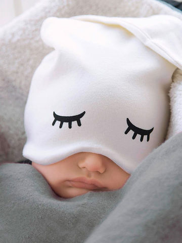 Zoe B's Organic Cotton Sleepy Hat