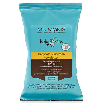 MD Moms Sunscreen Towelettes