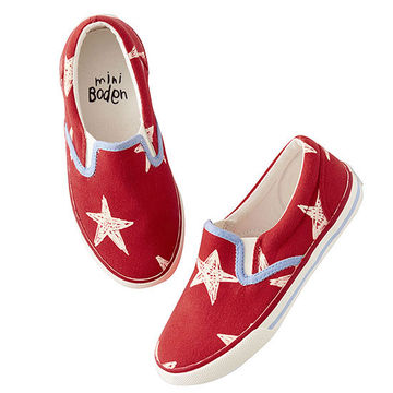 Mini Boden canvas sneakers