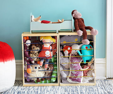 Stuffed animals storage