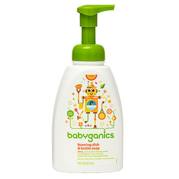 Babyganics foaming wash
