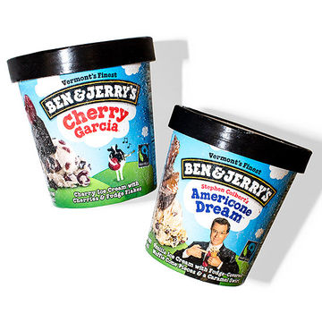 Two Ben & Jerry's pints