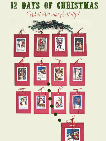 12 Days of Christmas Wall Art