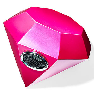 Portable diamond speaker