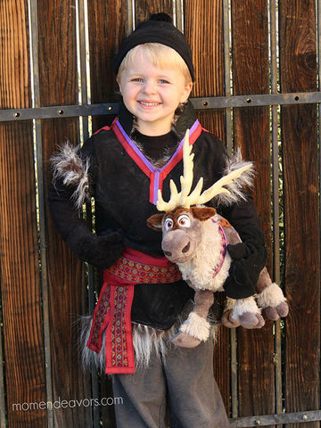 The best diy and store bought frozen costumes diy kristoff costume solutioingenieria Gallery