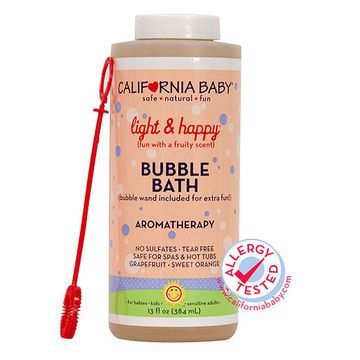 California Baby Light Happy Bubble Bath