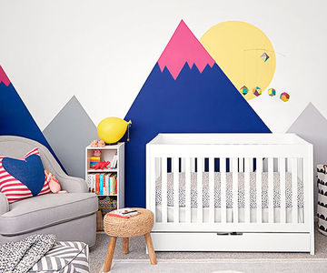 Inexpensive and creative baby nursery design ideas