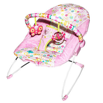 Bright Starts Pretty in Pink bouncer