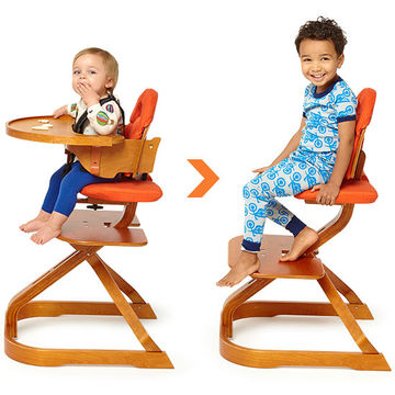 Svan high chair to table seat