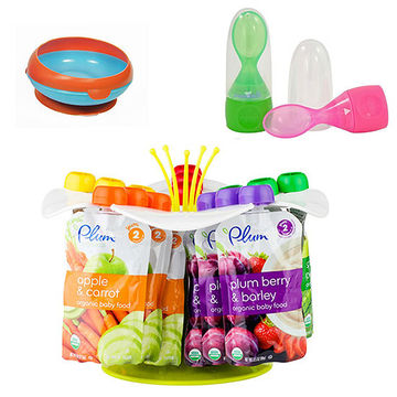 Inside Scoop Bowls, The First Years, Munchkin's Click Lock Spoon, The Petal by Boon Inc