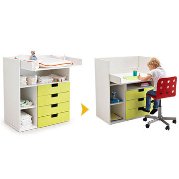 IKEA Stuva Changer to Desk