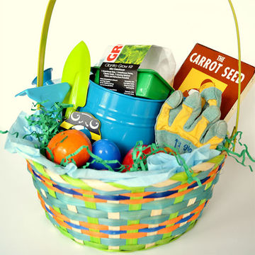 Best easter basket ideas without candy garden easter basket negle Image collections