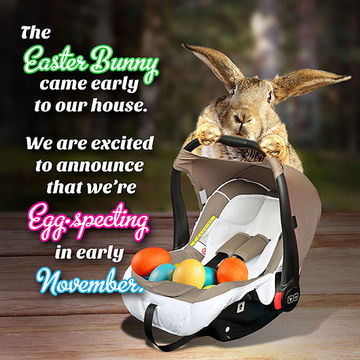 Our favorite easter pregnancy announcements negle Images
