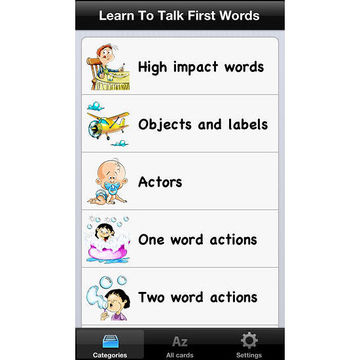 Learn to Talk First Words app