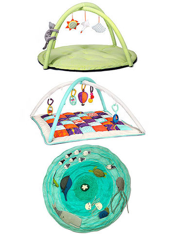 LEKA baby gym, Baby B Wonders Above gym, Be on the Sea activity mat