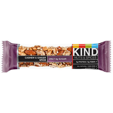 cashiew and ginger spice KIND Bar