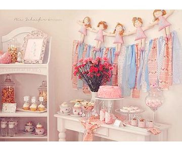 Shabby Chic Tea Party Shower