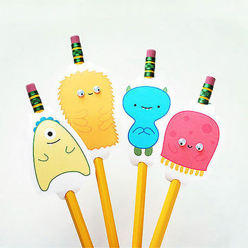 pencil Monster Toppers