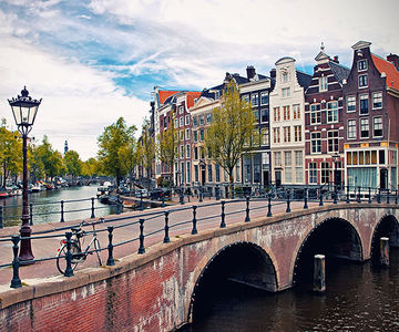 Amsterdam canals, Holland