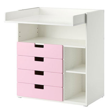 STUVA Changing Table with Four Drawers