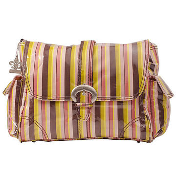 Kalencom Monkey Stripes Diaper Bag