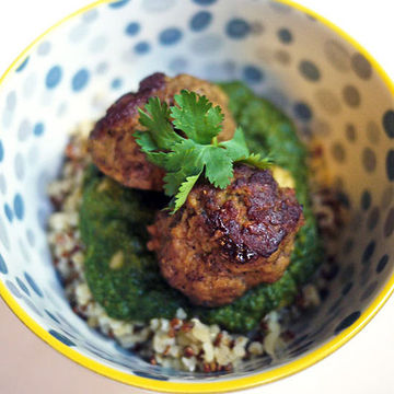 Indian-Spiced meatballs