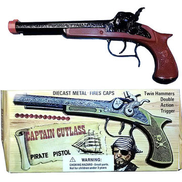 Captain Cutlass Pirate Toy Gun