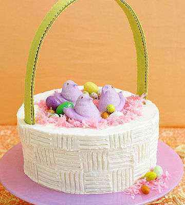 Easter-Basket Cake
