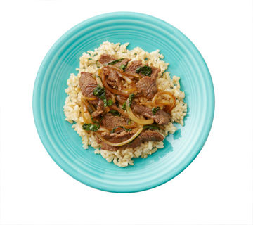 Stir-Fried Beef With Sweet Onions and Ginger