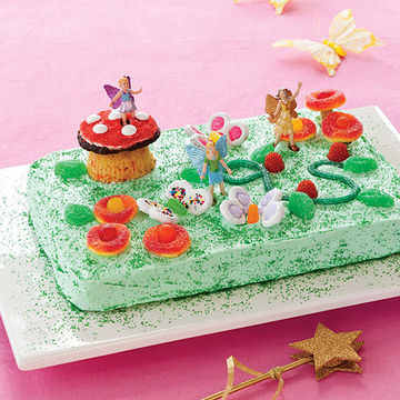 Magical Garden Cake