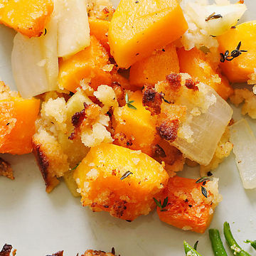 Butternut Squash and Apple Bake